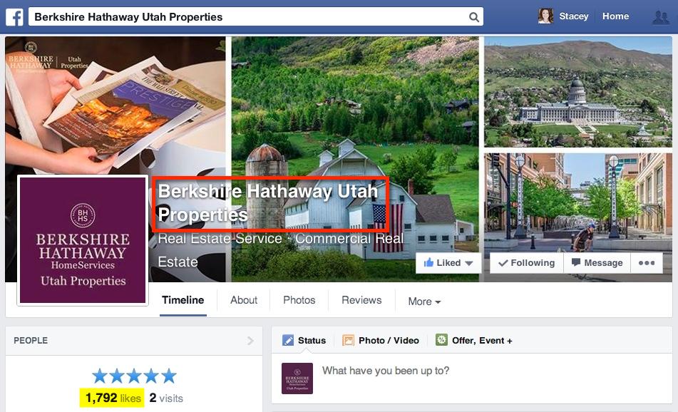 BHHS Utah Page