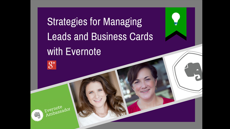 Turn business cards into leads with evernote webinar training video this webinar demonstrates evernotes business card scanning features and illustrates three workflows case studies for using evernote for your lead colourmoves