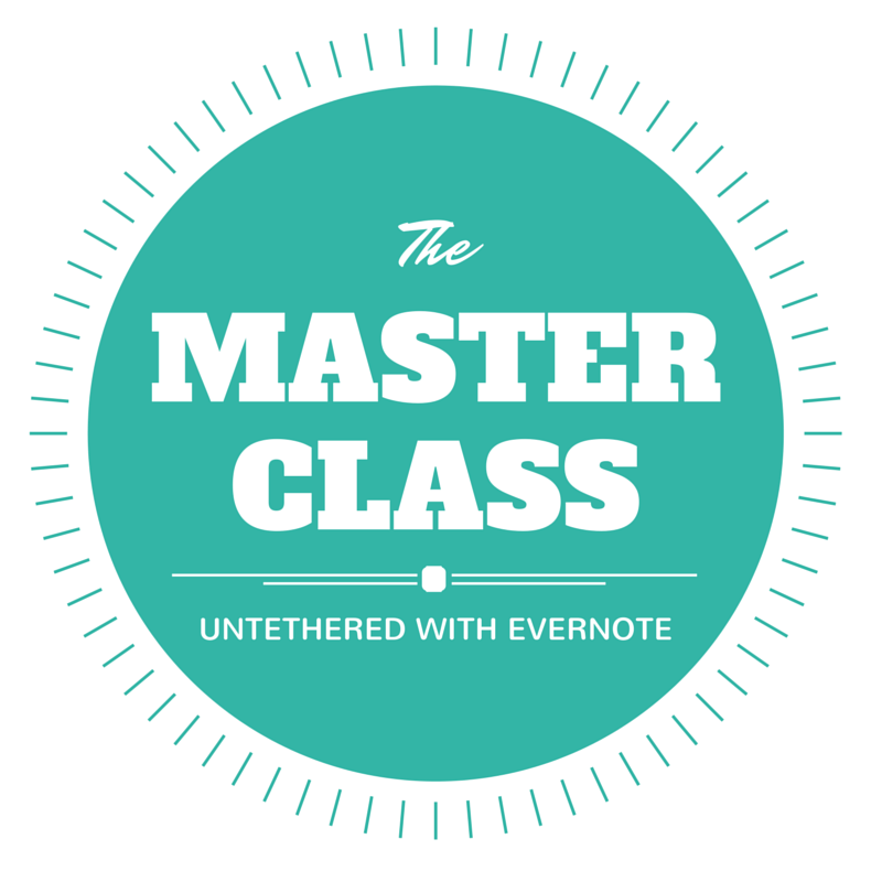 Untethered with Evernote Master Class