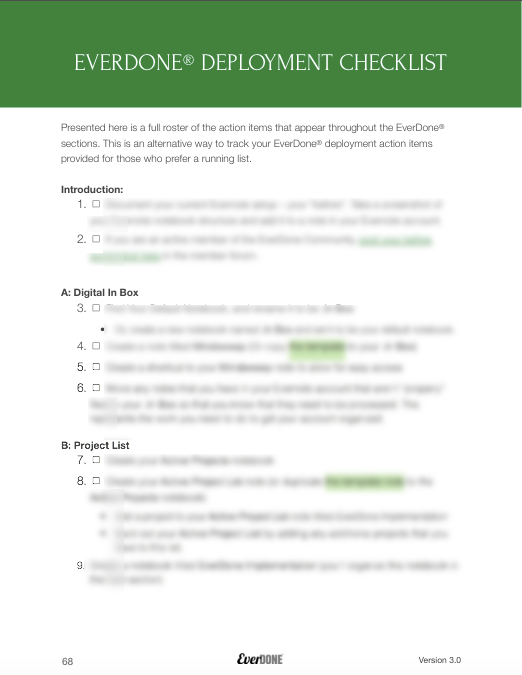 Copy of Deployment Checklist - Pg 1