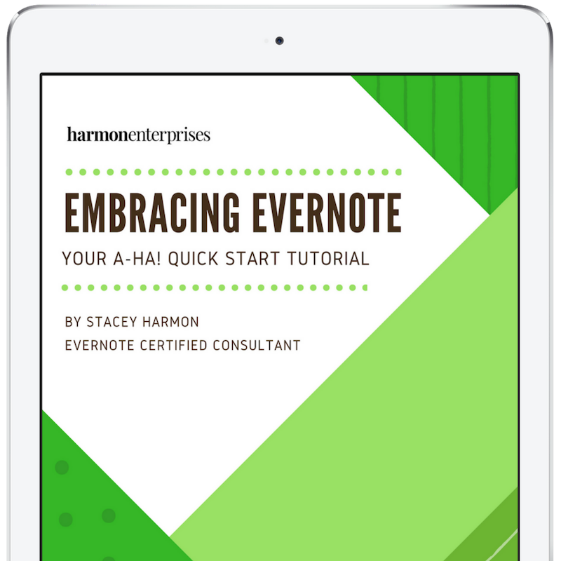 """Your Evernote """"A-Ha!"""" Guide"""