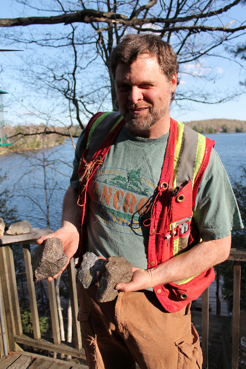 Chris Fouts is a modern day prospector, living in Bancroft, Canada's mineral capital.