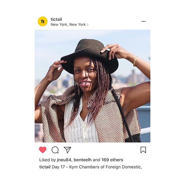 It was pretty sweet this week to be featured by @Tictail in their daily celebration of bad ass women in business!!💪🏾👌🏾 Every day this month @tictail has featured female business owners and entrepreneurs. It's such an honor to be in the company of so many super talented hard working women out there!! This is a particularly inspiring time to be alive, as the strong sense of activism, social and political engagement become essential to not only better the space women occupy in business, but also to defend our right to safety, to be heard, to be believed and to be lifted up into positions of power and authority in the ways that men have enjoyed for millennia. It's a beautiful struggle and I'm proud to be a part of it 💁🏾♀️🖤👏🏾👍🏾 #womenempowerment #womensrights #womeninbusiness