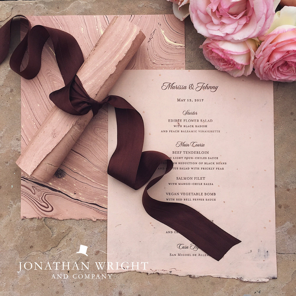 WEDDING SUITES Jonathan Wright and Company