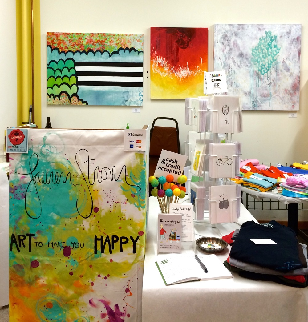 Art-A-Whirl 2015 \\ Waterbury Building \\ NE Minneapolis