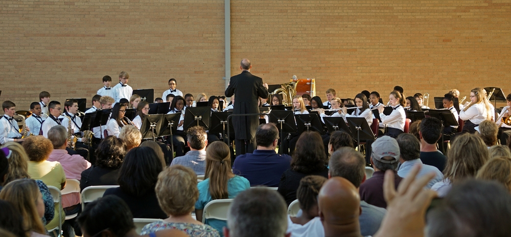Junior Concert Band Sunset Concert 2015