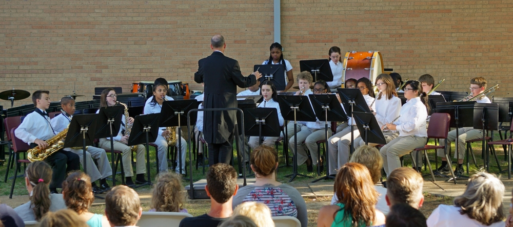 Beginner Band Sunset Concert 2015
