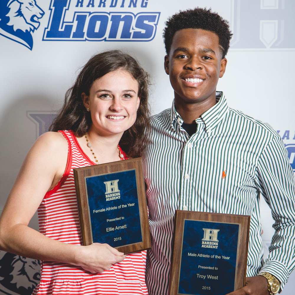 Athletes of the Year: Ellie Arnette and Troy West