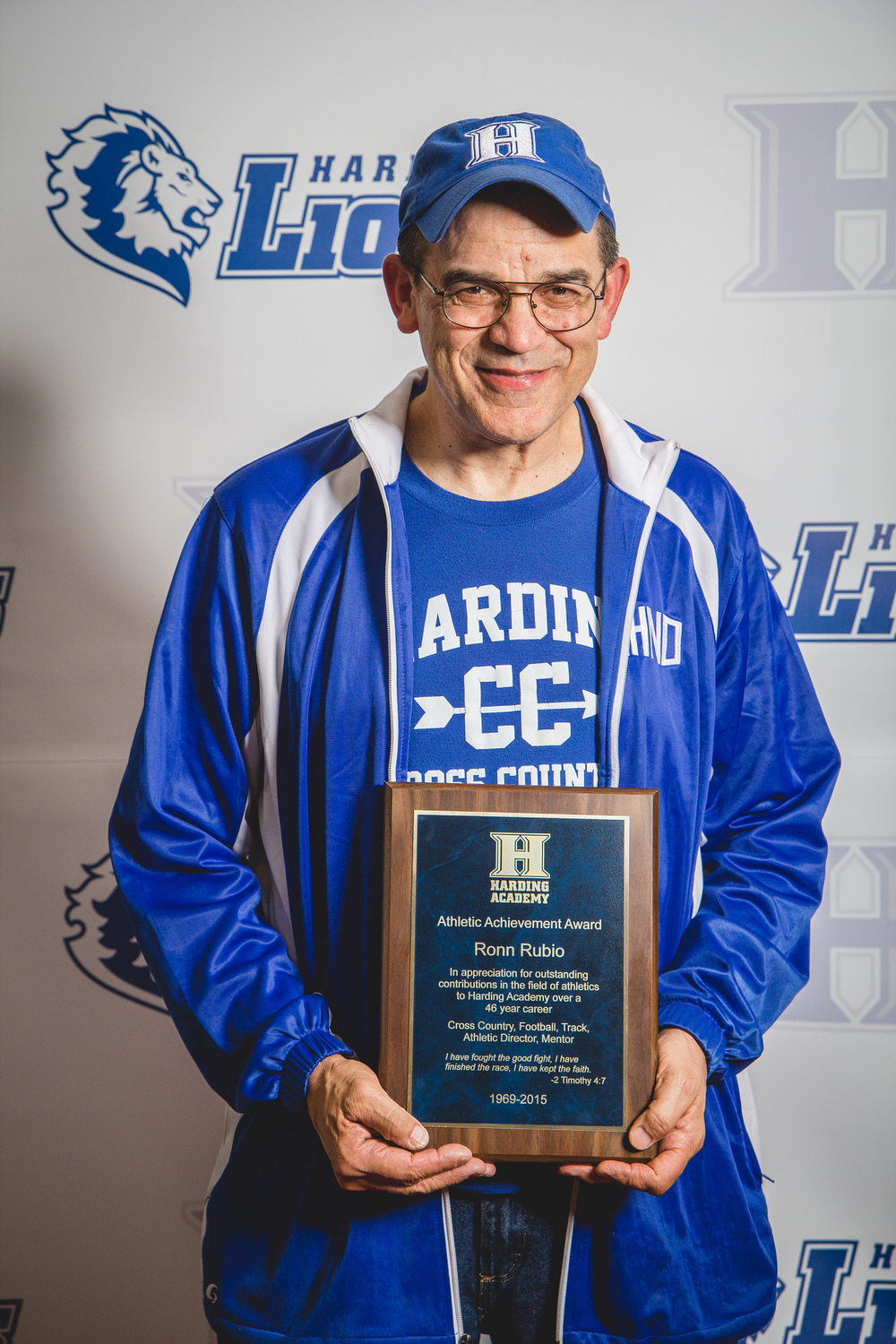 Athletic Achievement Award Ronn Rubio - 46 years