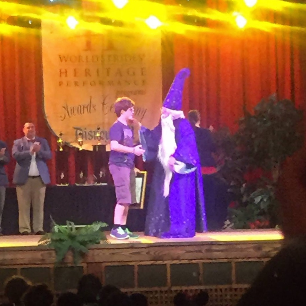 """The """"When You Wish"""" Award recognizes the ONE person who represents the entire festival."""