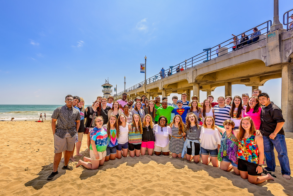 Harding SWE enjoys a day at the beach in sunny Southern California!
