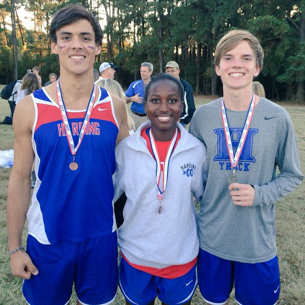 (L-R) Robbie Machen (10th), Zaria Christy (8th), and Clayton Sharp (2nd)