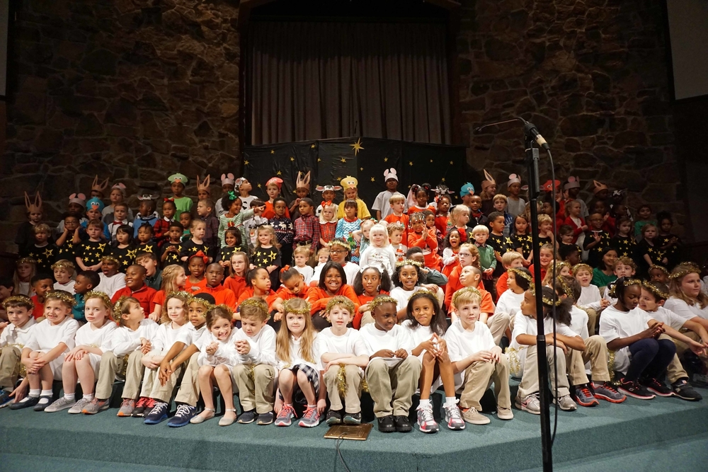 The Littlest Angel Choir
