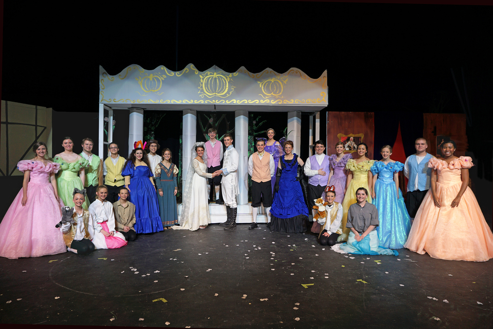 The cast of Cinderella