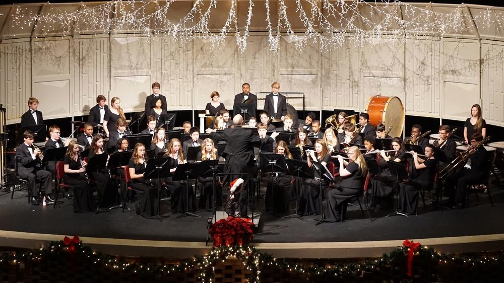 Senior Wind Ensemble All Bands Christmas Concert