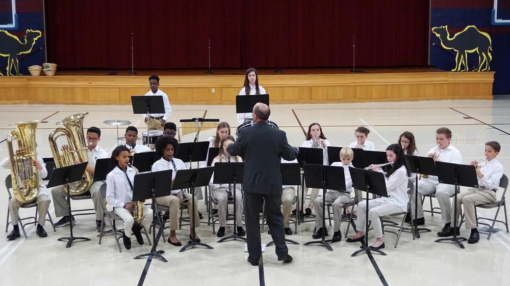 Beginner Band Concert Cordova Lower School