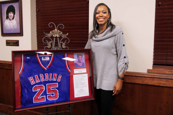 Juana Brown's Jersey Retirement