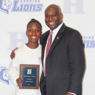 Female Athlete of the Year – Zaria Christy