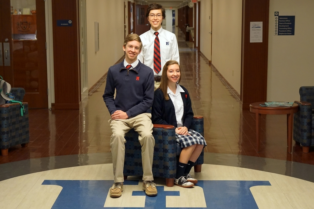 Valedictorian – Caleb Cranford; Co–Salutatorians – Hayley Ford and Micah Dempsey