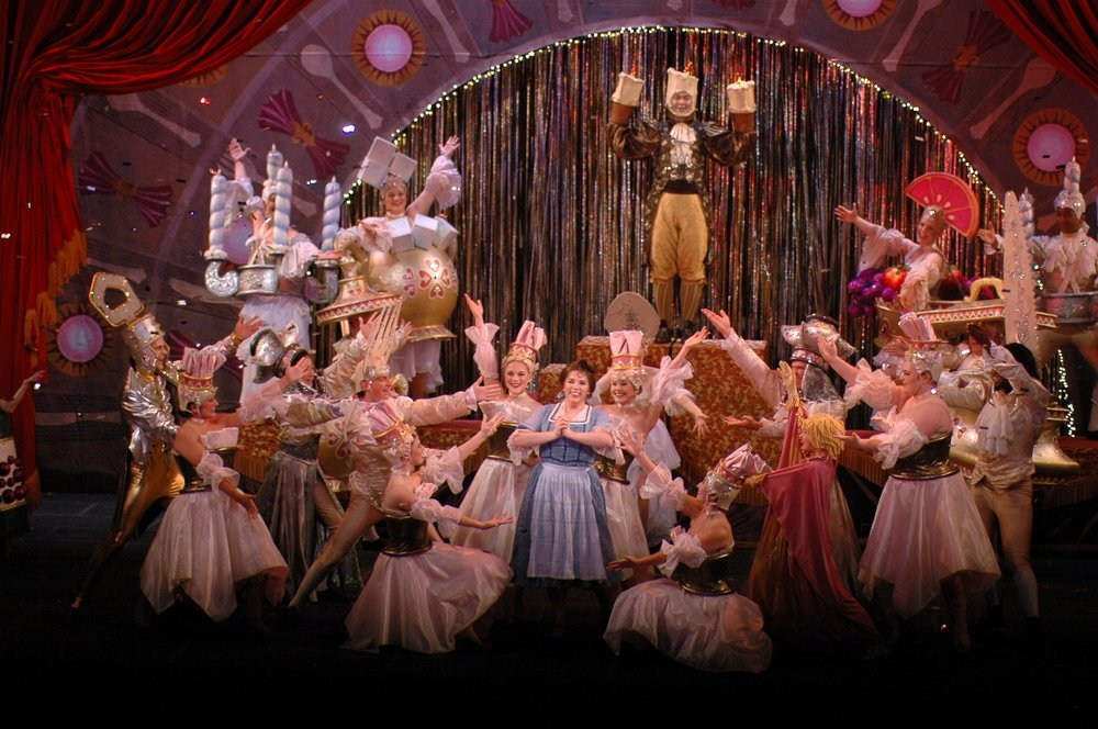 Photo credit:  Beauty and the Beast  at Theatre Memphis. Photography by Skip Hooper.