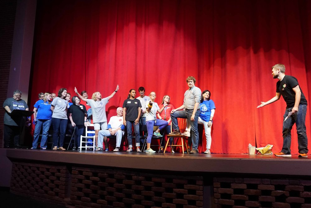 Sept30 Faculty:StaffHomecomingSkit04.jpg