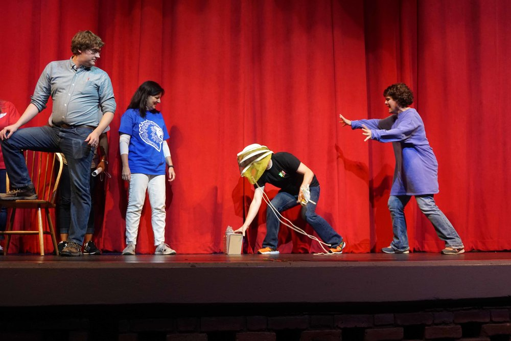 Sept30 Faculty:StaffHomecomingSkit09.jpg
