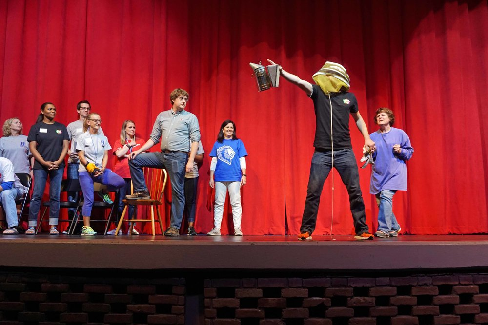 Sept30 Faculty:StaffHomecomingSkit10.jpg
