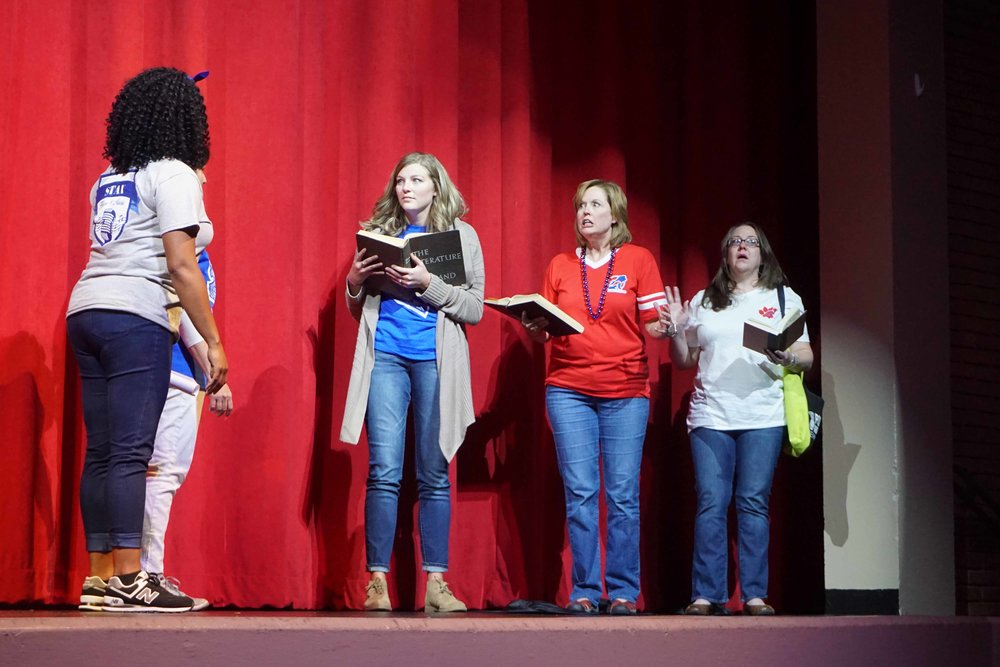 Sept30 Faculty:StaffHomecomingSkit14.jpg
