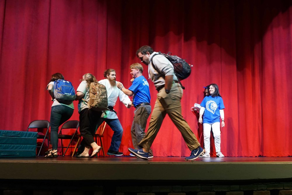 Sept30 Faculty:StaffHomecomingSkit40.jpg