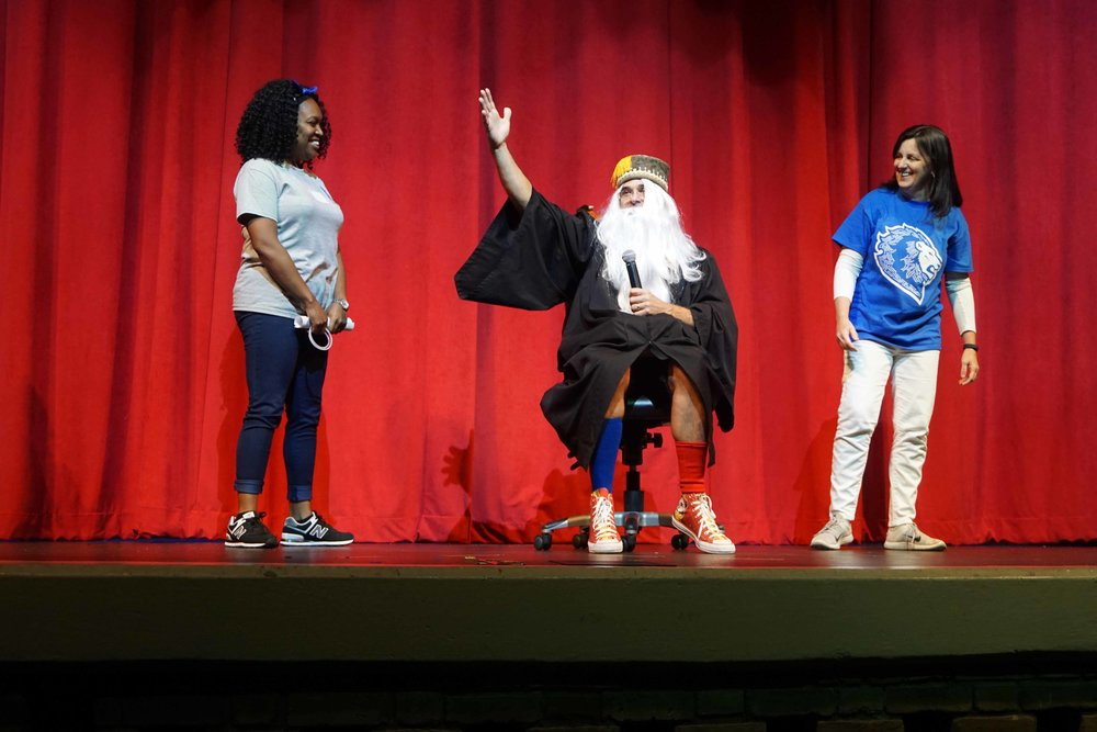 Sept30 Faculty:StaffHomecomingSkit43.jpg