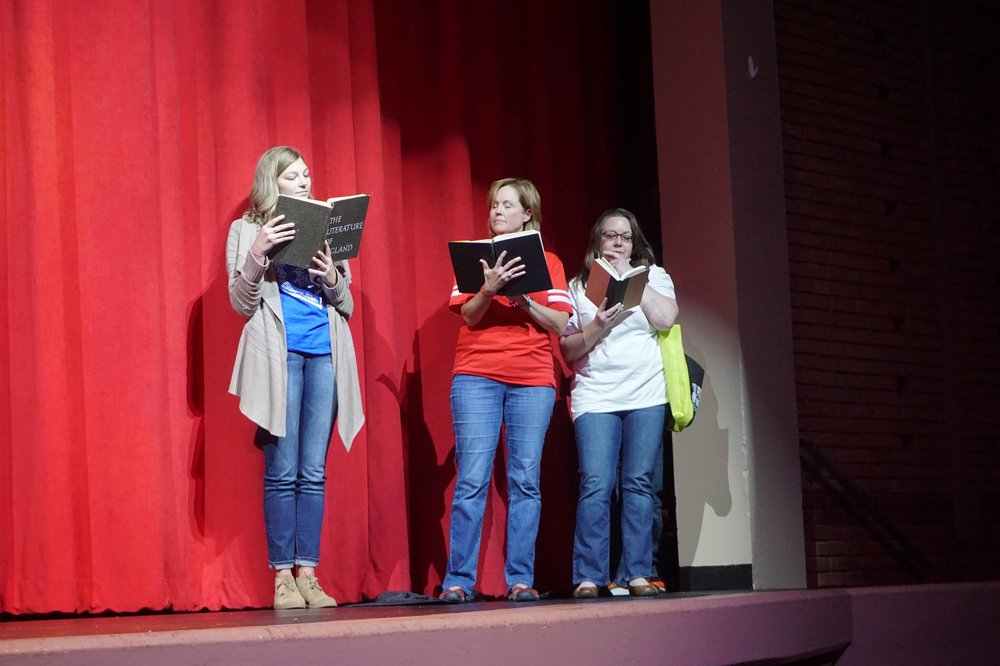 Sept30 Faculty:StaffHomecomingSkit01.jpg