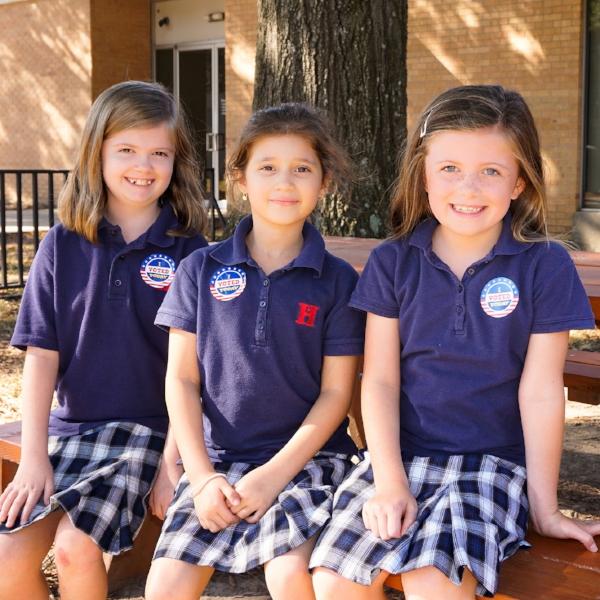 Callie Henton, Julianna Allen, Nora Shelby WSLS Grade 2