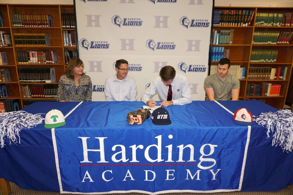 Casey Harford's signing