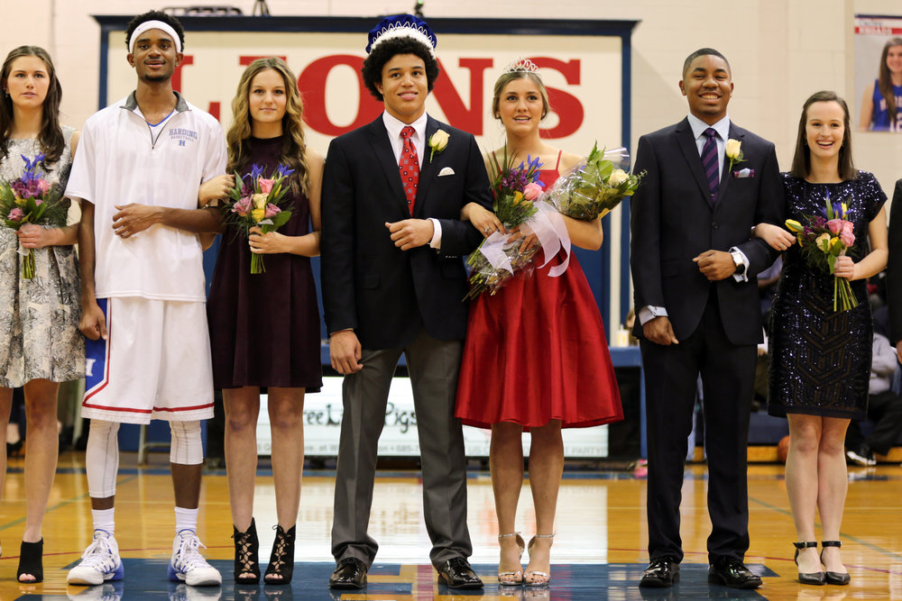 Seniors: Julian Isabel and Taylor Aeschliman, James Townsdin and Isabel Lievens, Grant Hill and Rebecca Rowsey