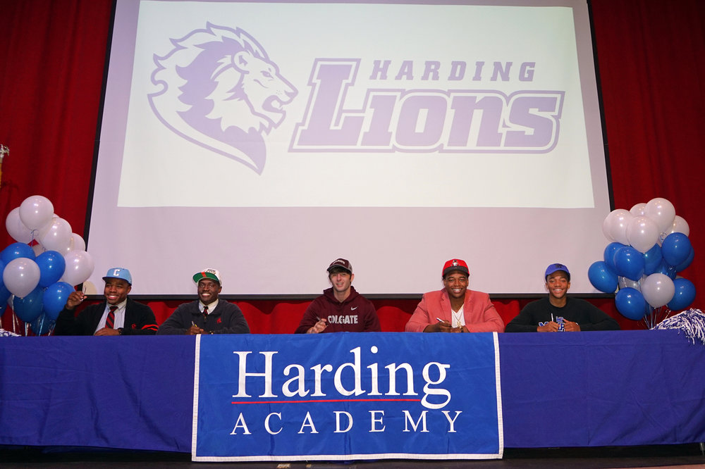 Marquavious Moore – Columbia University; Nick Martin – Harding University; Sam Jennings – Colgate University; Mason Harwell – Austin Peay State University; Calvin Austin – University of Memphis