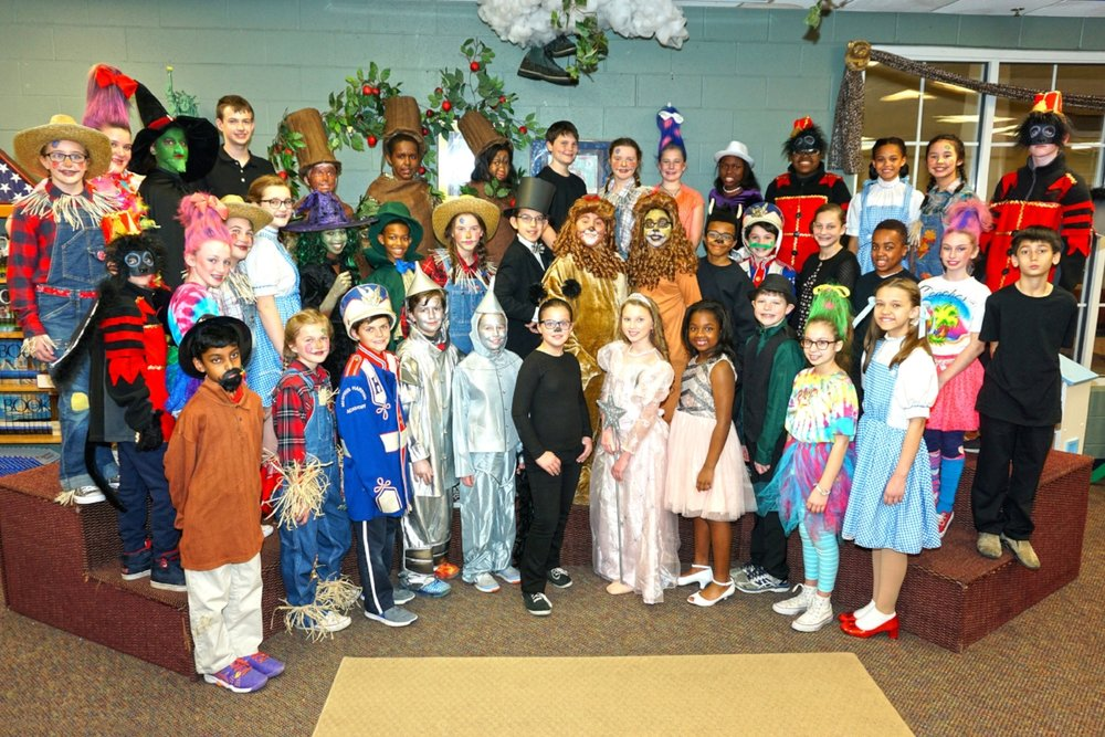 CDLS 5th & 6th present  The Wizard of Oz