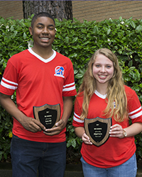 Mr. & Miss Harding–Grant Hill & Abigail Curtis