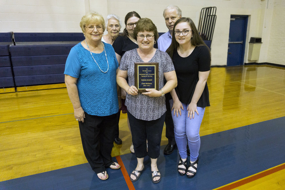 Cindy McKinnie—The Pat Bowie Award for Outstanding Early Childhood Teacher of the Year