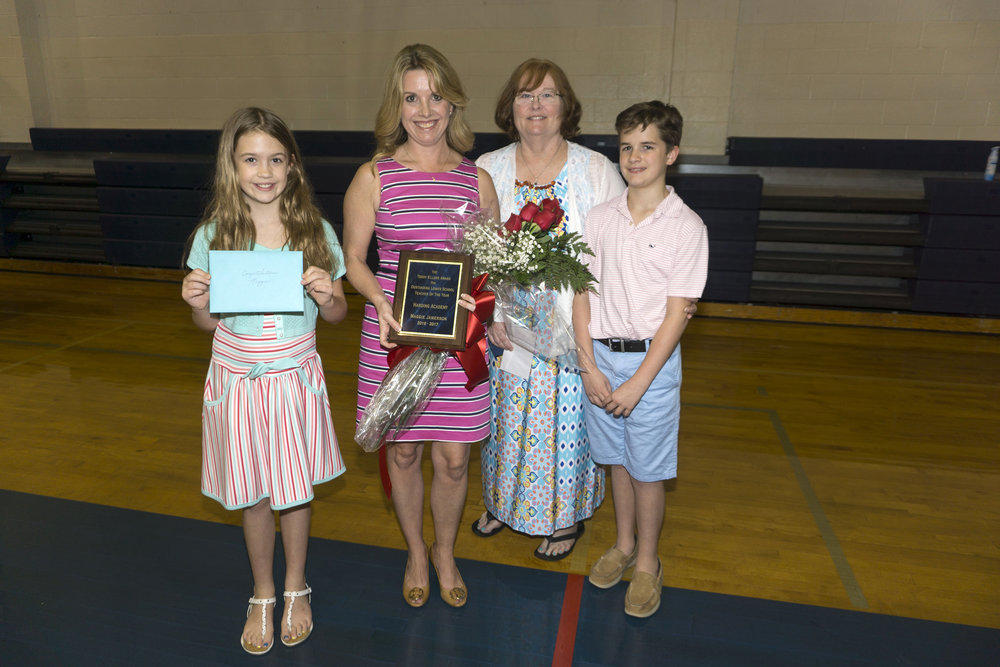 Maggie Jamerson—The Terry Ellers Award for Outstanding Lower School Teacher of the Year