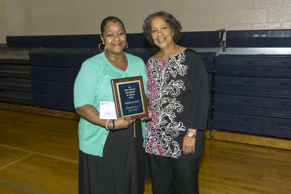 Velvetta Clay—The Betty Copeland Staff Member of the Year Award