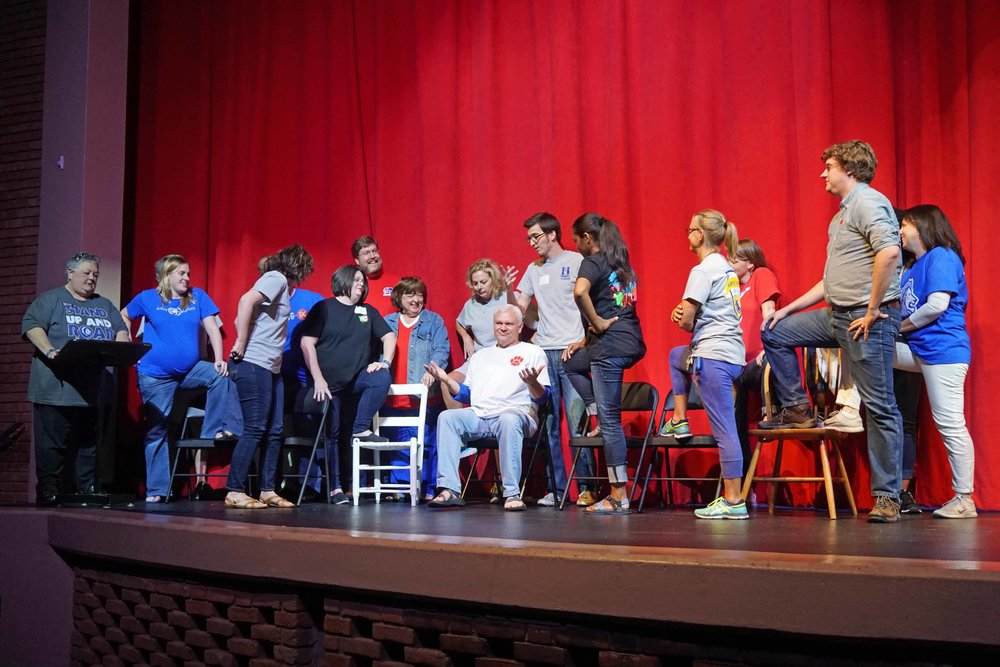 Sept30 Faculty:StaffHomecomingSkit02.jpg