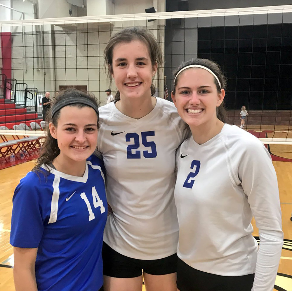 Our All-Tournament Lady Lions! Congrats to Molli Arnett, Sage Hawley, and tournament MVP Lauren Deaton!