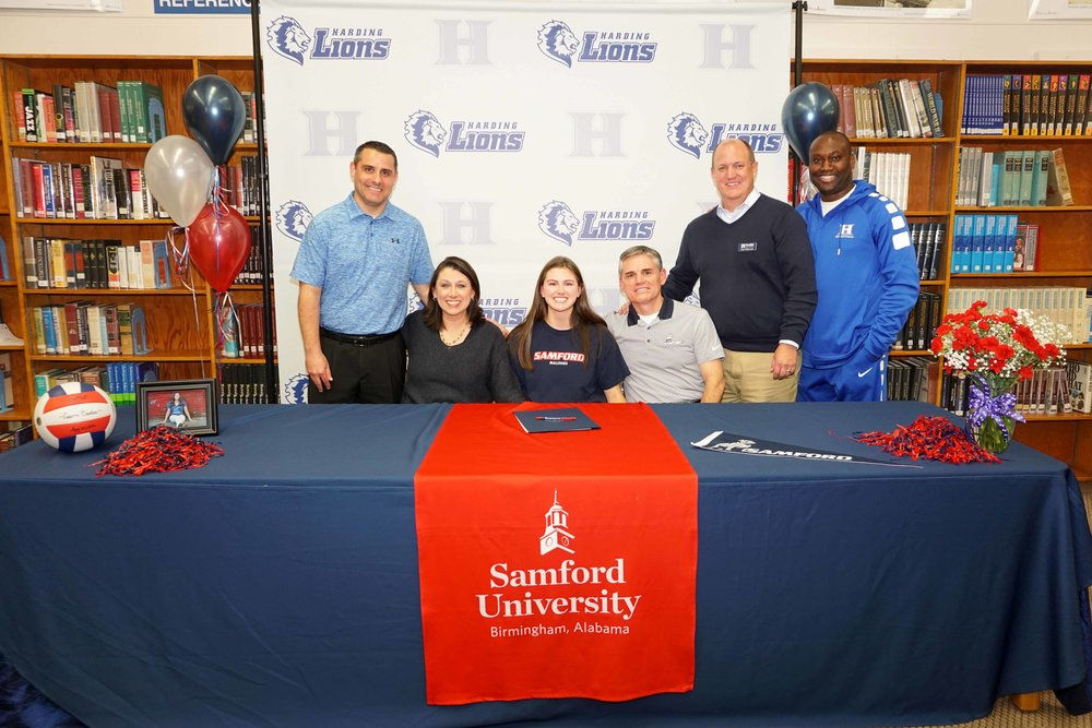 Lauren Deaton signs with Samford
