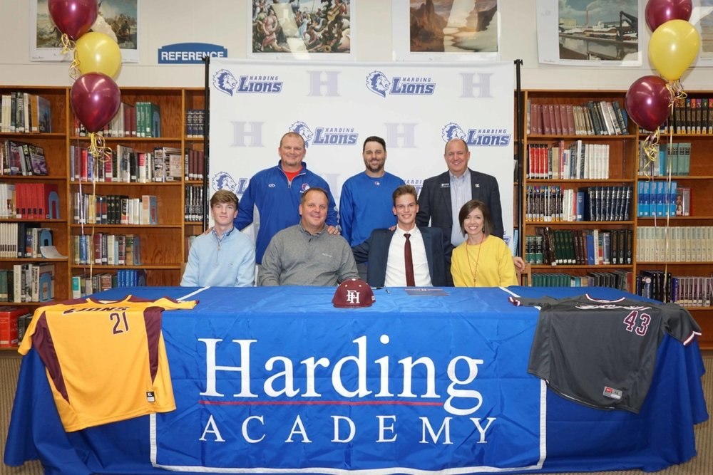 Jacob Simmons signs with Freed–Hardeman