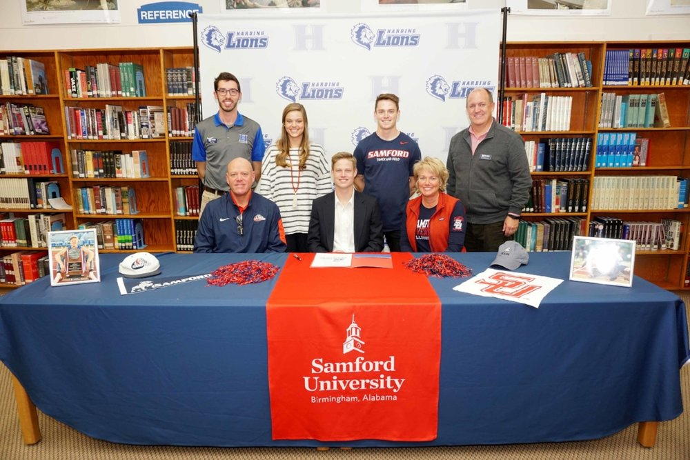 Ty Kimberlin signs with Samford