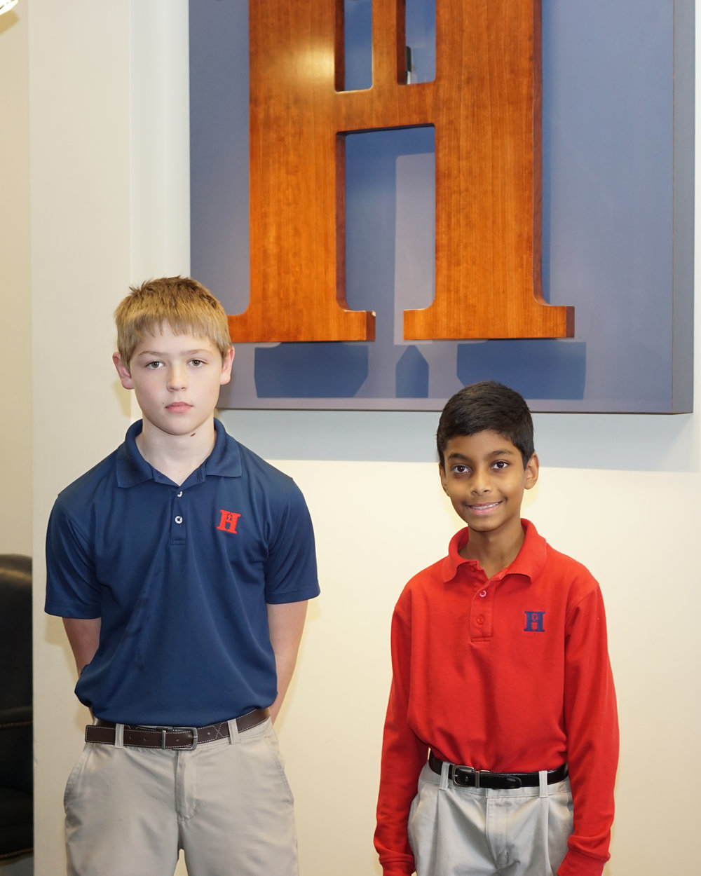 Isaiah Fisher and Akhil Vigneshwaran