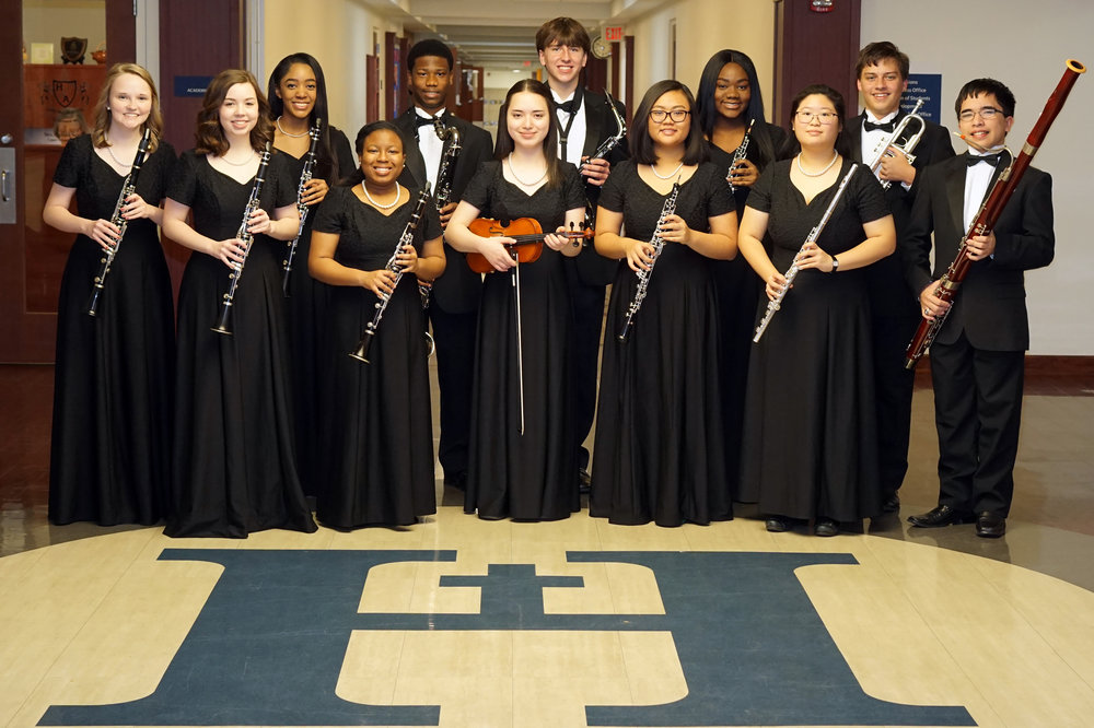 Back row (l to r): Avery Efaw, Mikyla Smith, Matthew Pleas, Jacob Altrock, Jada Laws, Hunter Underwood, James Darby Front row (l to r): Caroline Birdwell, Elizabeth Monix, Chelsea Darby, Kelly Vinh, Jessica Lee