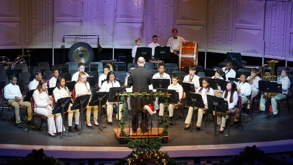 Beginner Band 2017 All Bands Christmas Concert