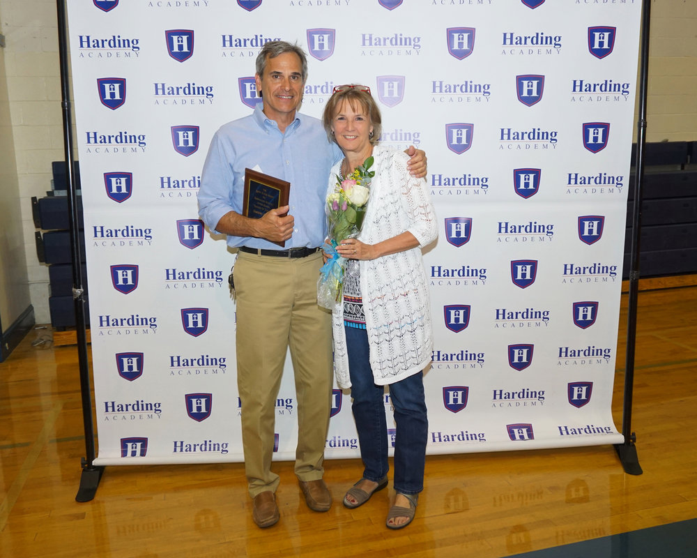 Tim Stafford–The Betty Bates Award for Outstanding Middle/Upper School Teacher of the Year
