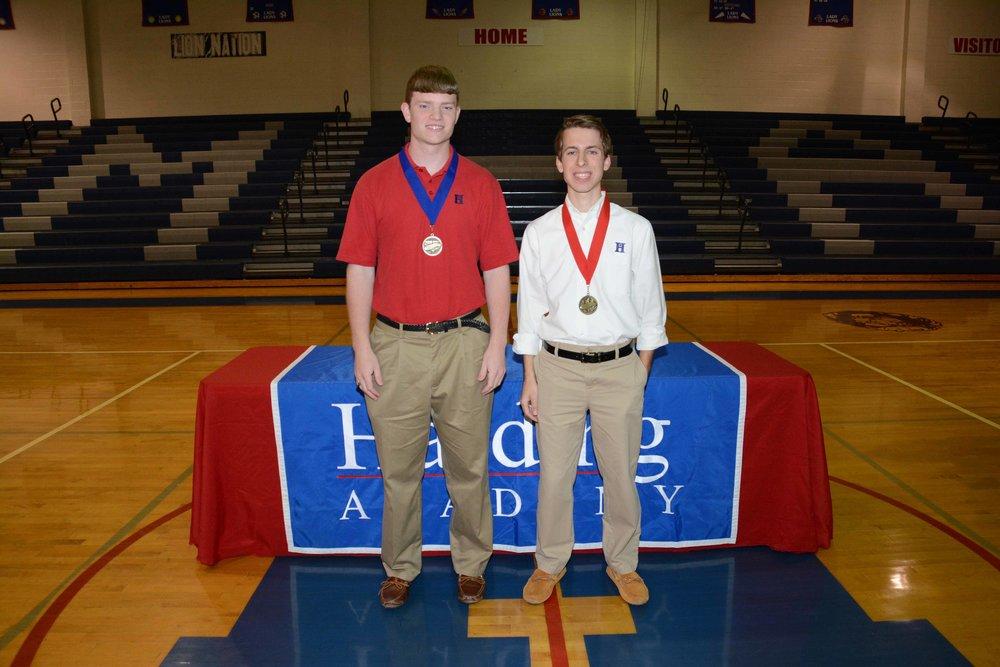 Robert Mihalko (sal) & Zach Riedel (val)